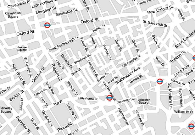London City Map Vector