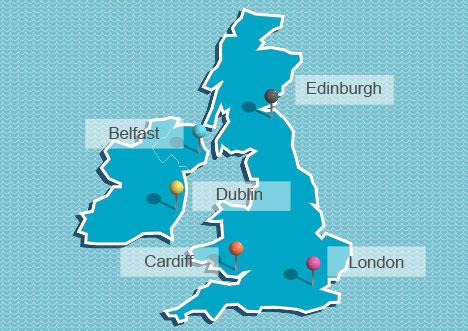 London Map Clipart