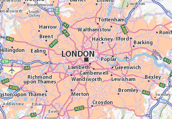 London Map Image