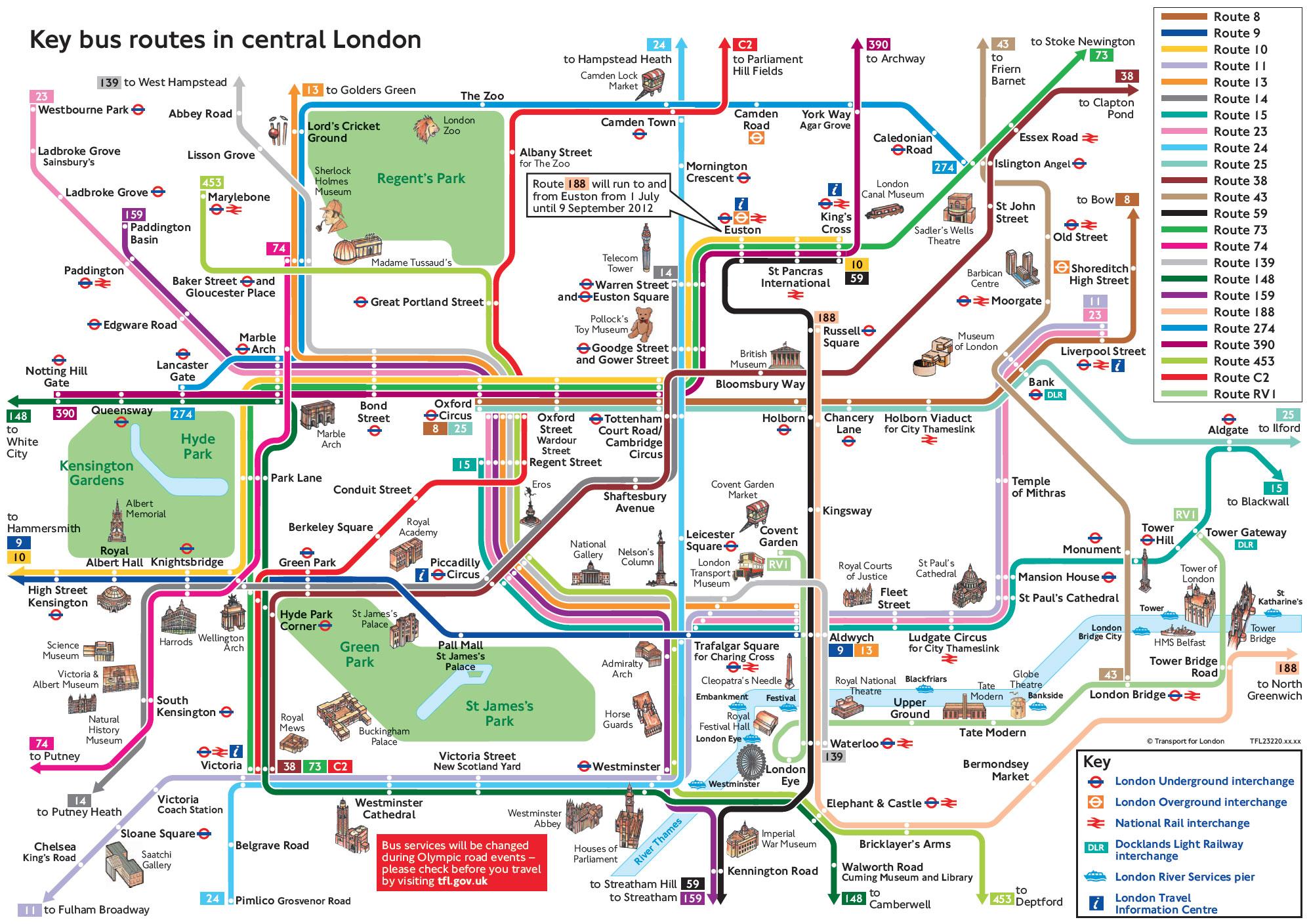 London Map Tourist