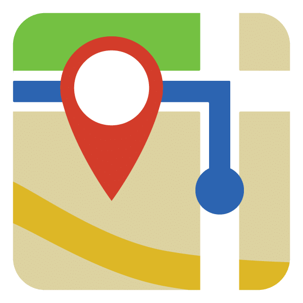 Map Directions Icon