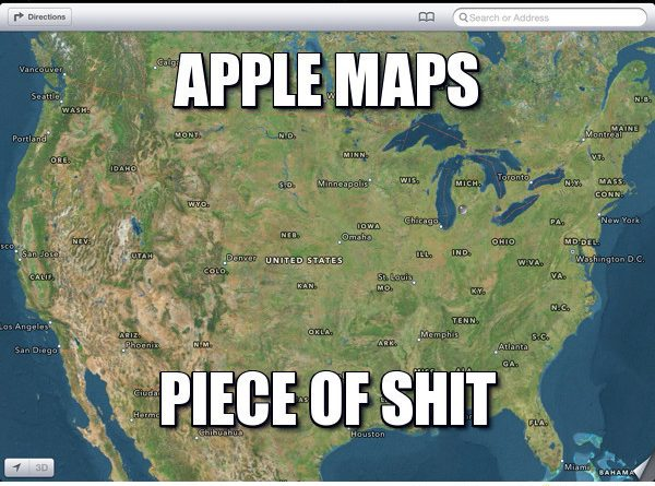 Map Directions Meme