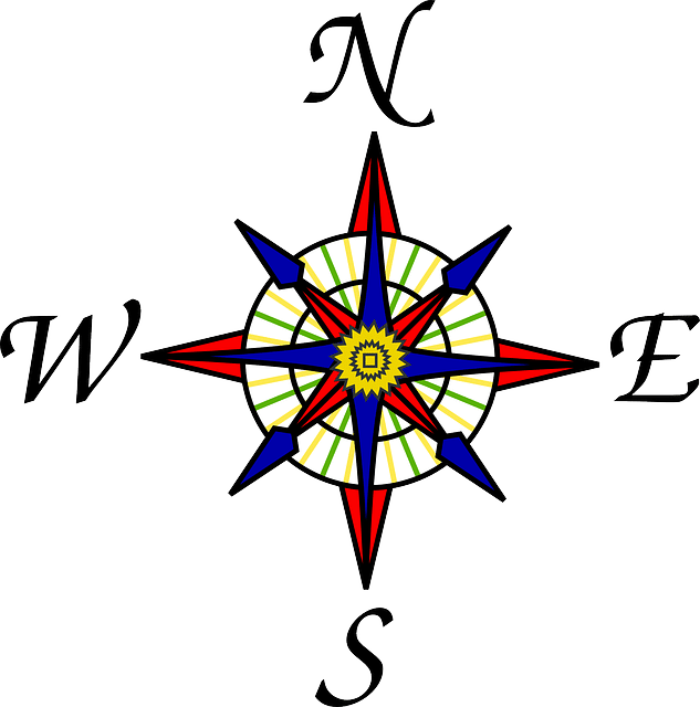 Map Directions Symbol