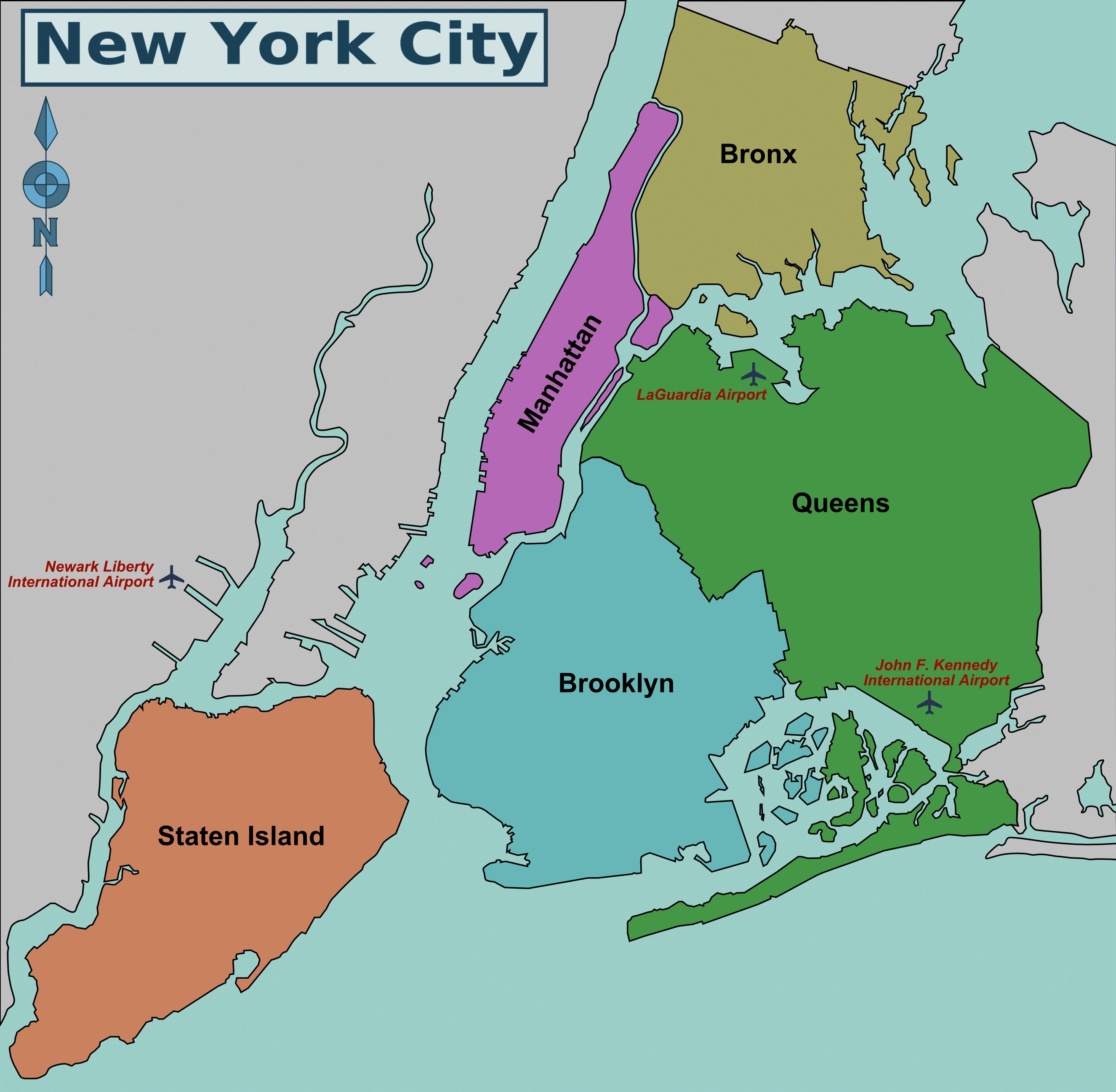 Map ny City