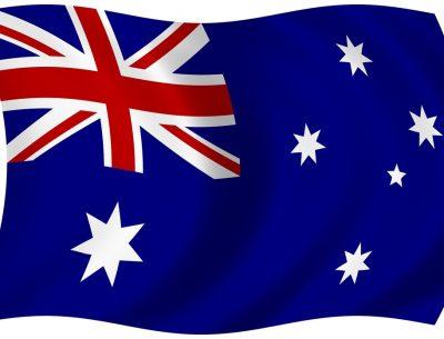 Map of Australia Flag