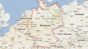 Map of Germany Google