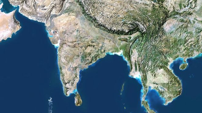 Map of india satellite free hd images map of india satellite gumiabroncs Image collections
