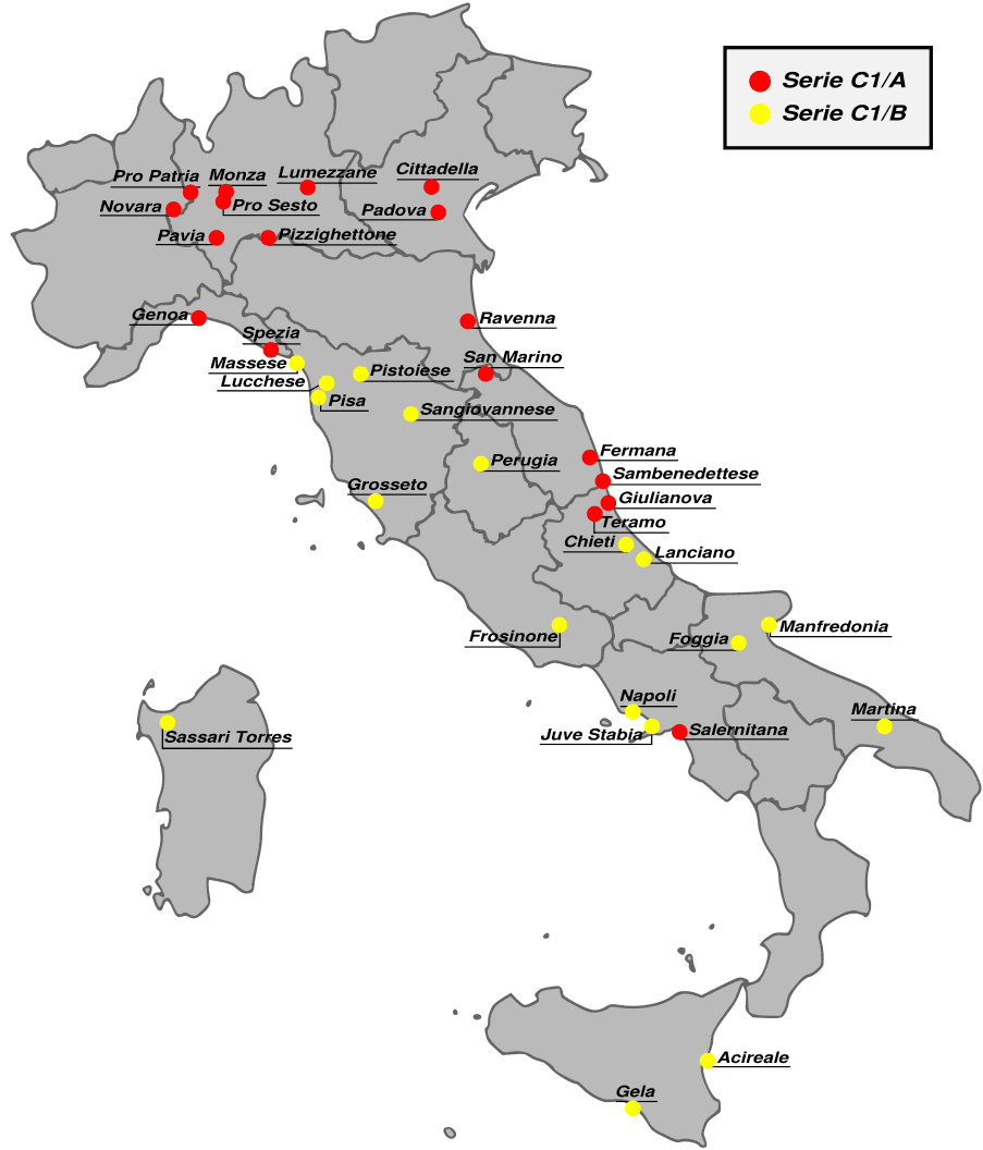 Map of Italy Airport