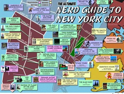 Map of New York City Area