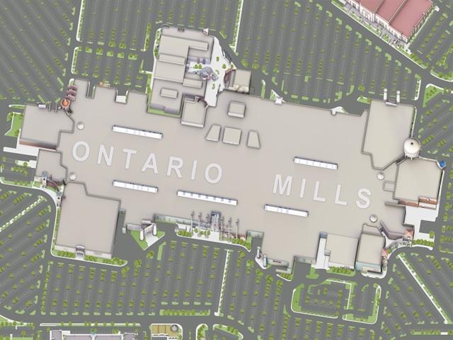 Map of Ontario Mills