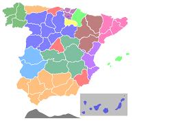Map of Spain Clip art
