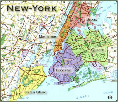 Map of nyc Hotels