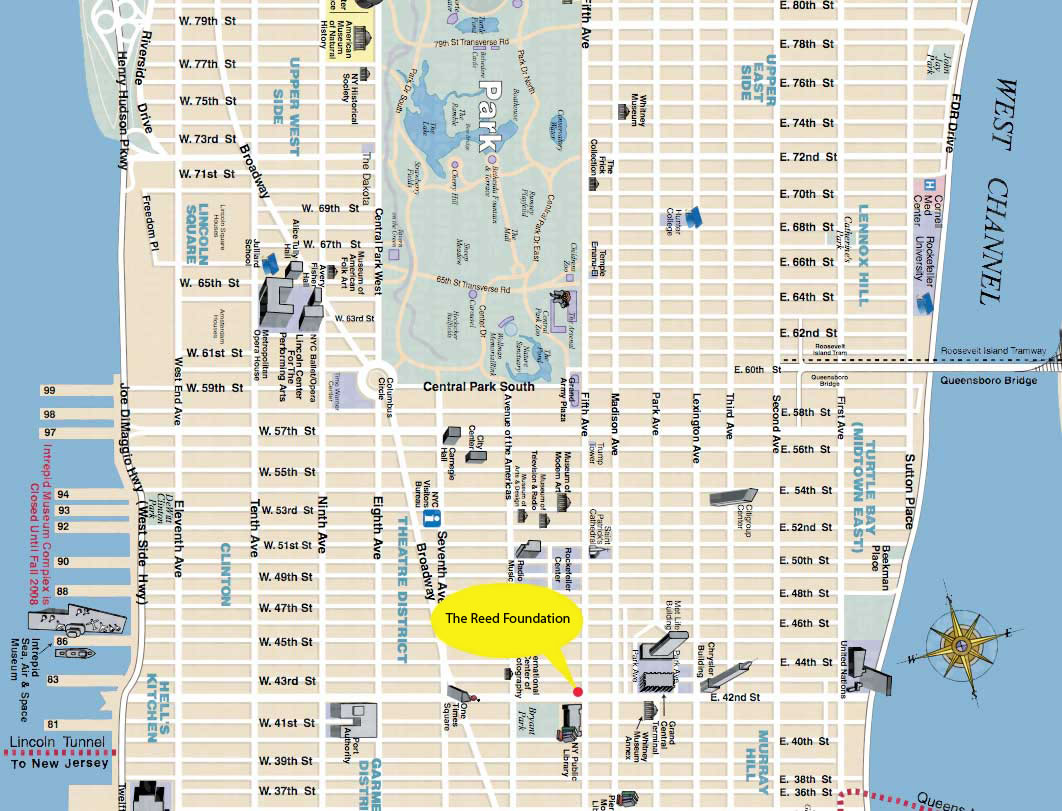 Map of nyc Street