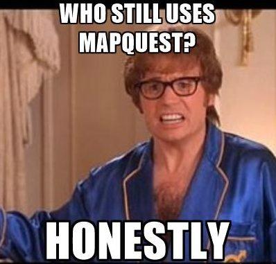 Mapquest Meme
