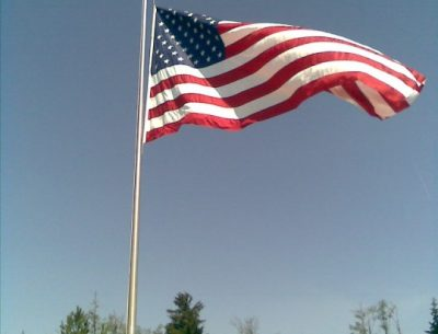 Memorial Day Flag Image