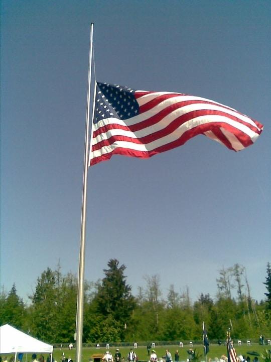 Memorial Day Flag Image