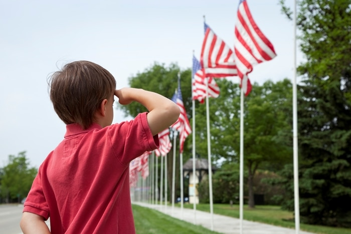 Memorial Day Photo for Kids