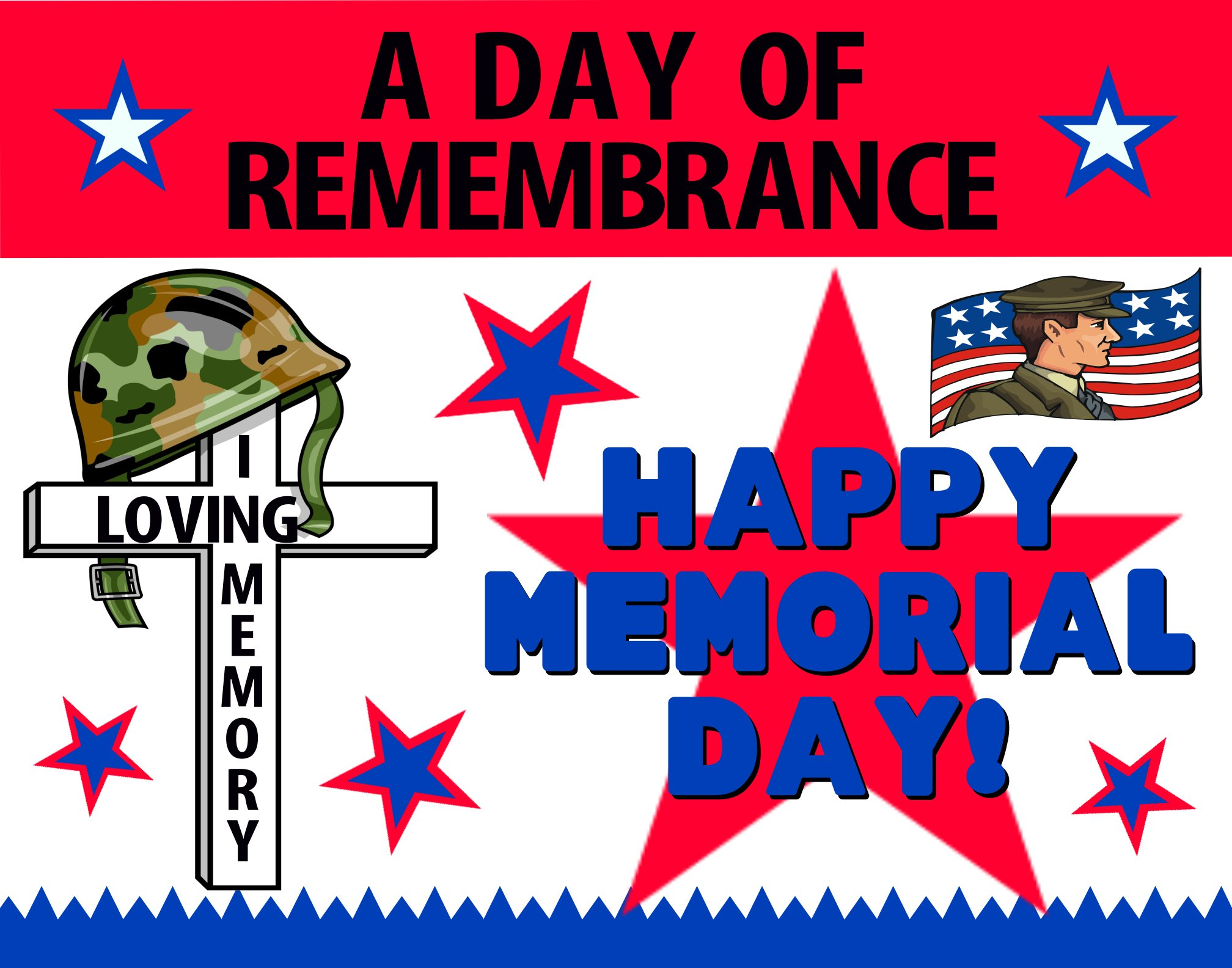 Memorial Day Poster Download