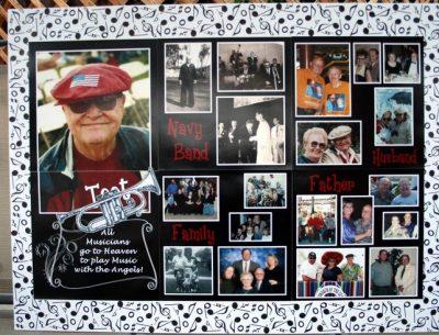 Memorial Photo Board