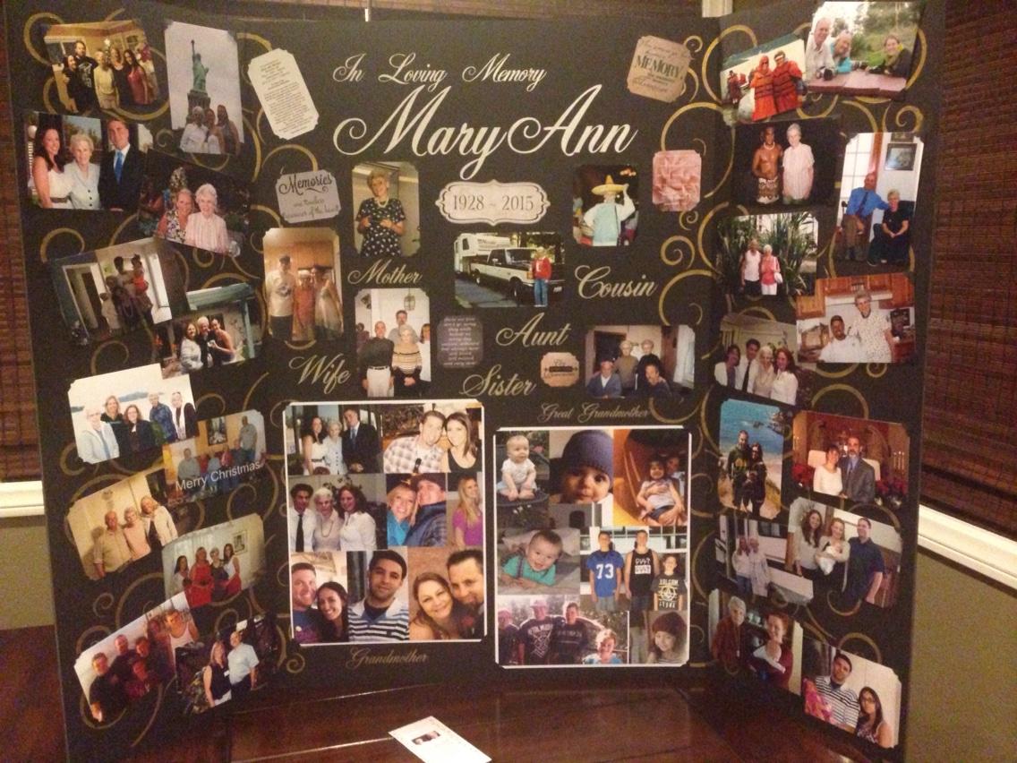 Memorial Photo Collage