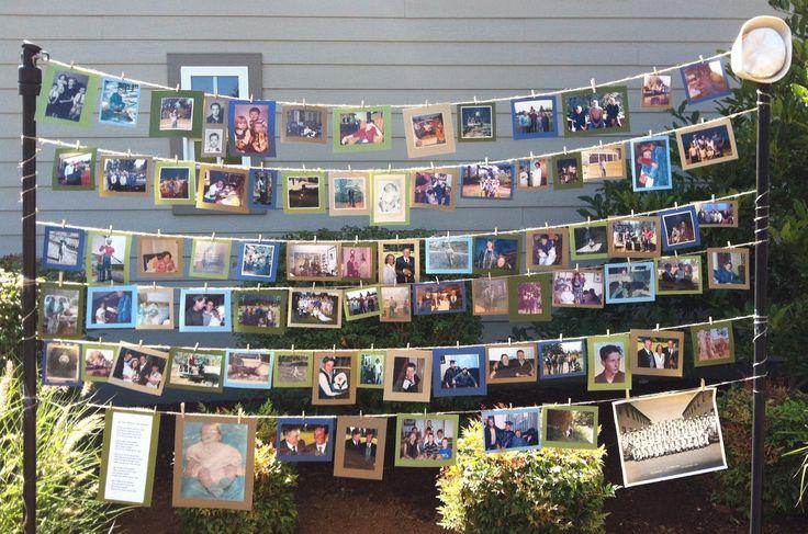 Memorial Photo Display