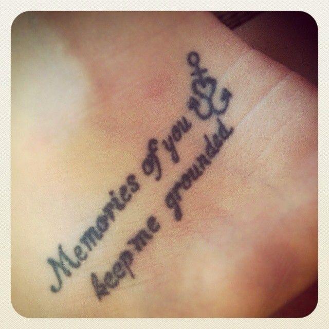 Memorial Quotes Tattoo