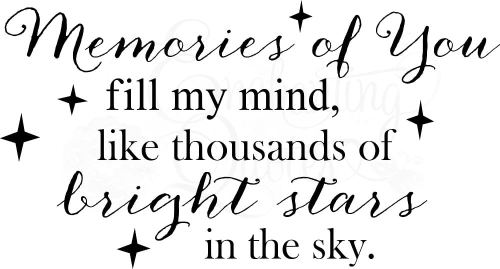 Memorial Quotes and Sayings
