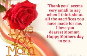 Message for Mother Day
