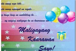 Message for Mother Tagalog