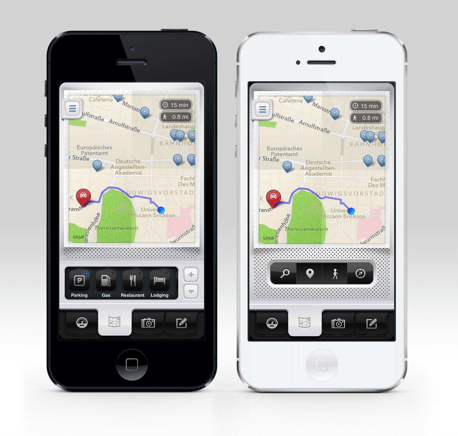 Mobile Map Design