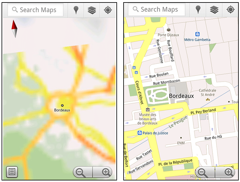 Mobile Map Download