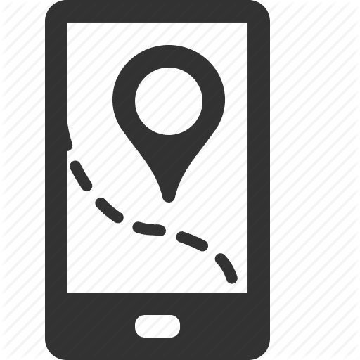 Mobile Map Icon