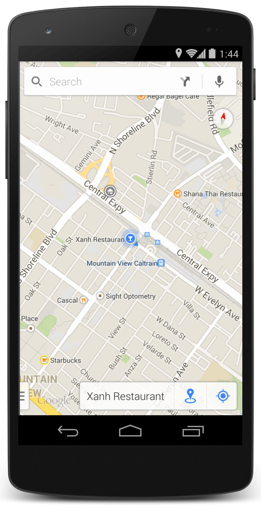 Mobile Map Image
