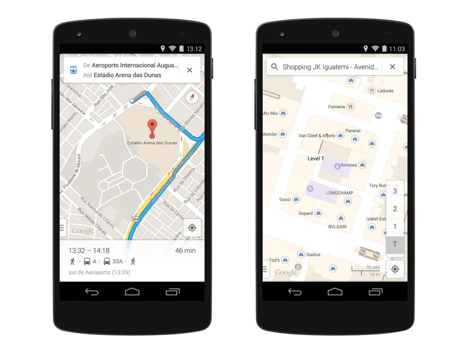 Mobile Map View