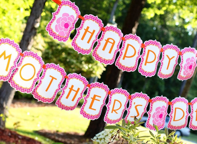 Mothers Day Decoration Idea