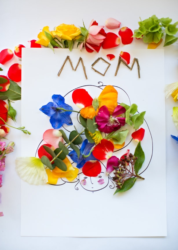 Mothers Day Flower Art