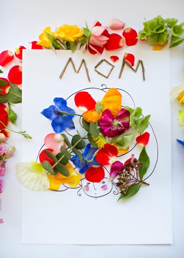 Mothers Day Flower Art