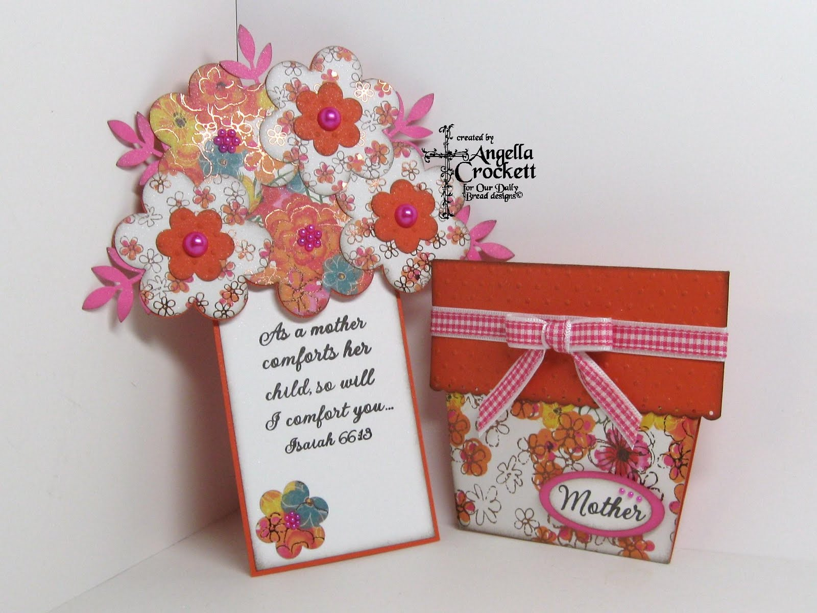 Mothers Day Flower Post Card