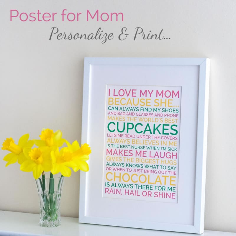 Mothers Day Idea Easy