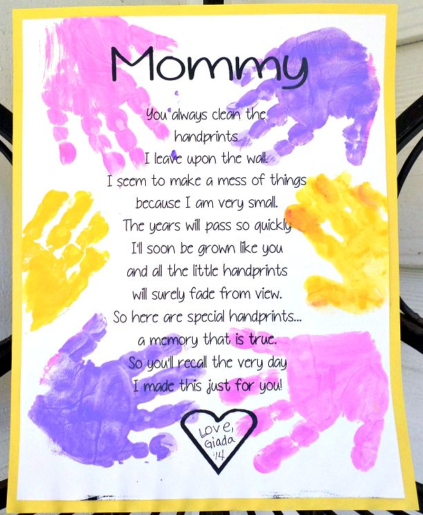 Mothers Day Poem From Kids
