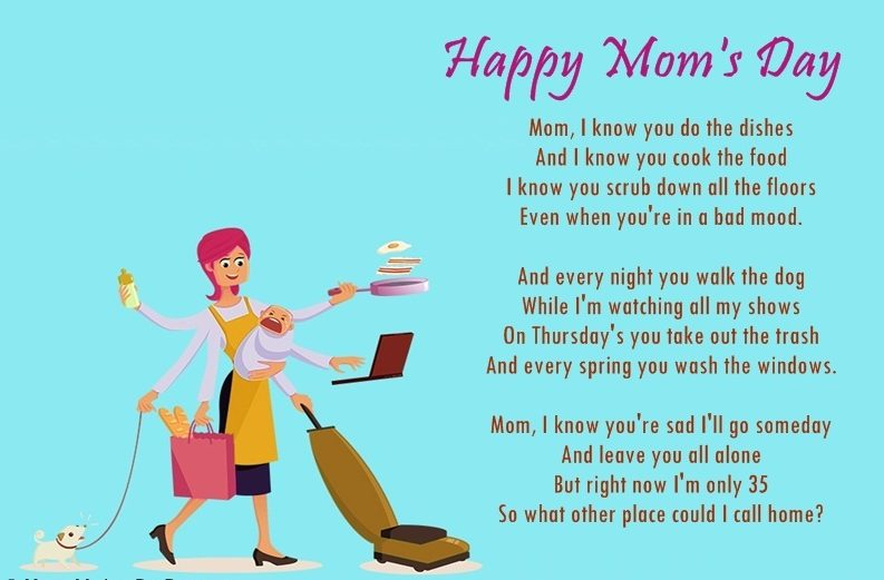 Mothers Day Poem Funny