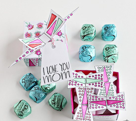 Mothers Day Presents Idea Homemade