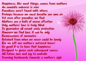 Mothers Day Sayings Card