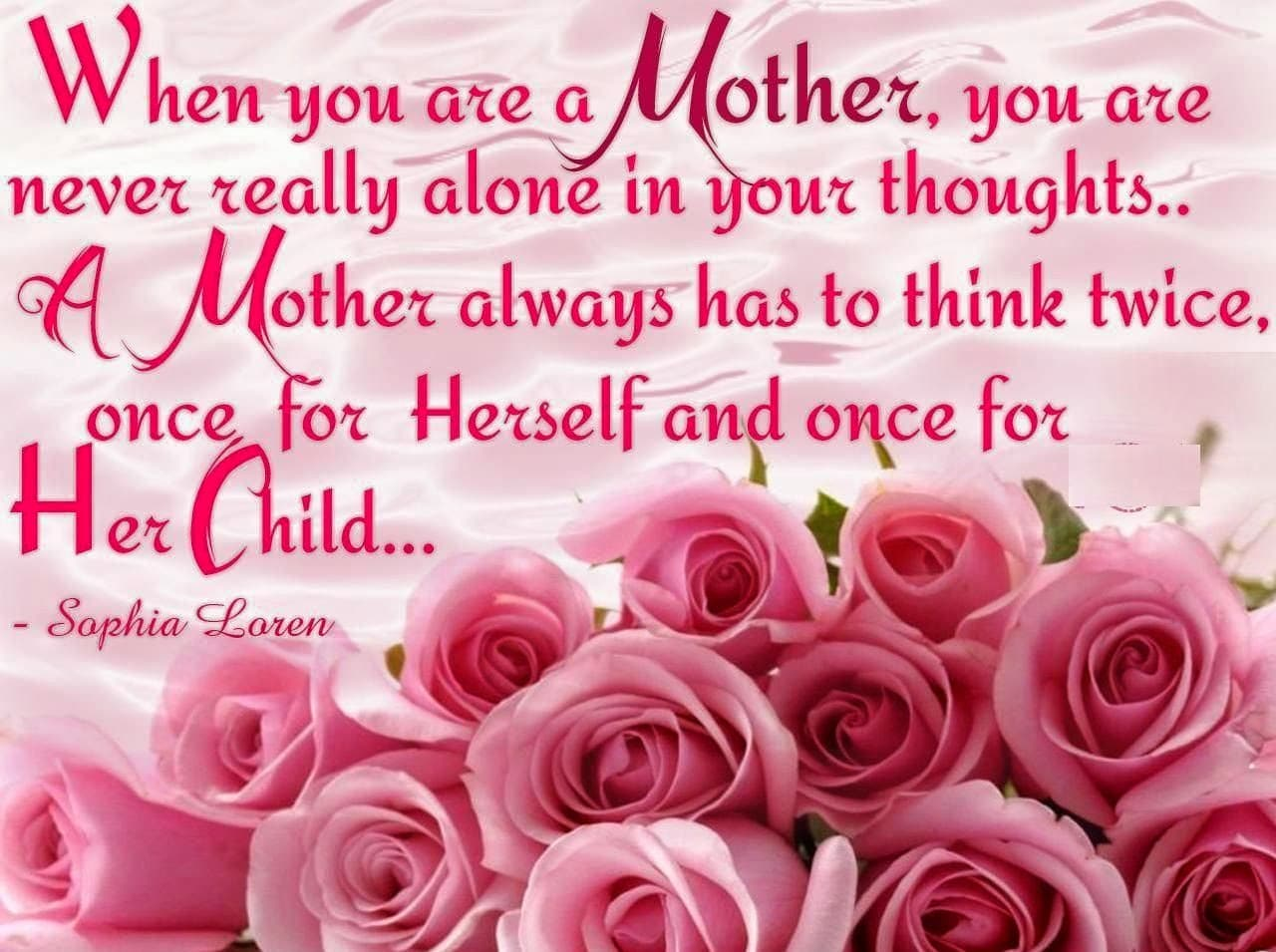 Mothers Day Sayings Child