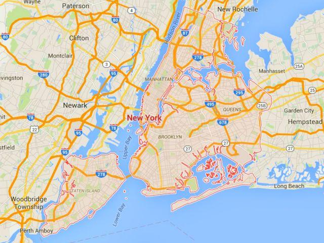 NY City Map Google