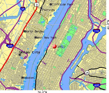 NY City Zip Code Map