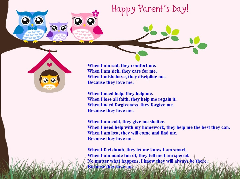 National Parents Day Message Image