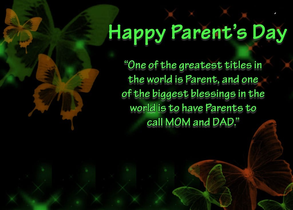 National Parents Day Messages