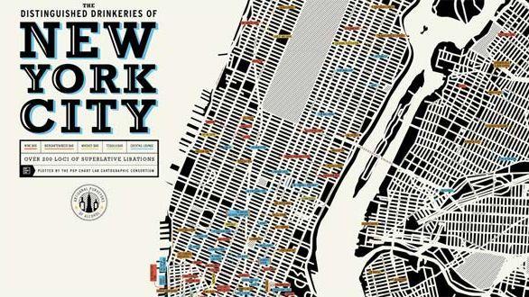 New York Map Design