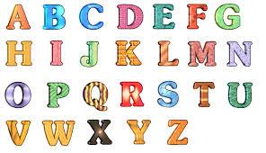 Online Alfabet Chart